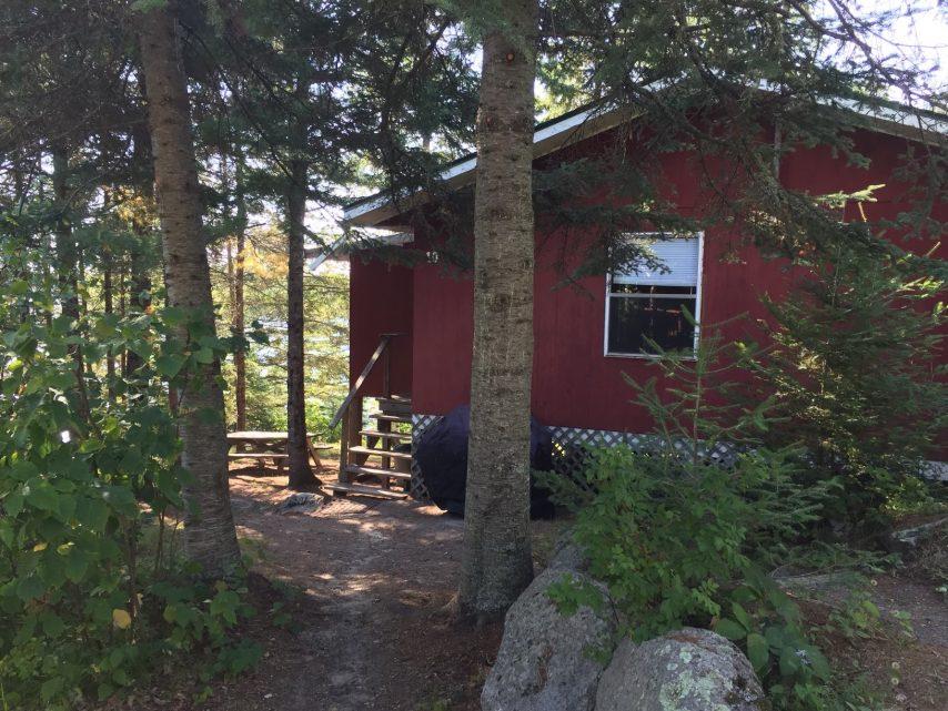 Cabin 10 Exterior | Tyc's Blindfold Lake Resort